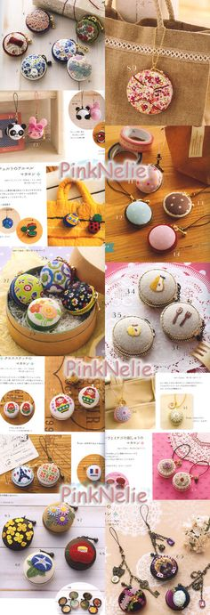 March 2012 Published    56 Pages    Making Macaroon Phone Straps Accessory Include 2 Sets of Making Macaroon Kits    There are FULL SIZED OF PATTERN PAGES and Japanese with diagrams and how-to make instructions.    .•:*¨¨*:•..•:*¨¨*:•..•:*¨¨*:•..•:*¨¨*:•..•:*¨¨*:•..•:*¨¨*:•..•:*¨¨*:•..•:*¨¨*:•..•:*¨¨*:•    ♥♥SHIPPING♥♥  ♥I ship EVERYDAY. (Monday –Friday)  I will send the items by International Registered Air Mail Package  ♥Combine Shipping