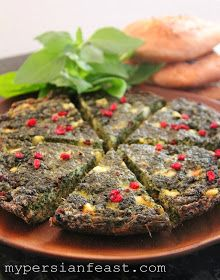 Greek Frittata With Zucchini, Tomatoes, Feta, And Herbs Recipes ...