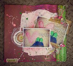 """❤ My Life"" ~ Journal, Doodle, Scrapbook, SMASH book, Project Life"