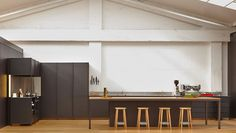 KXN | IMO Closed Kitchen, Powder Coat Colors, Kitchen Living, Old And New, Minimalism, Interior, Outdoor Decor, Kitchen Ideas, Kitchens