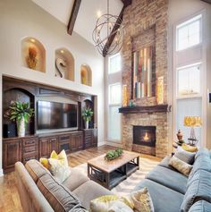 View photos of Lambie Custom Homes in Overland Park, Olathe, Shawnee, and surrounding areas. Office Interior Design, Luxury Interior Design, Interior Design Living Room, Living Room Designs, Office Designs, Interior Modern, Kitchen Interior, Modern Kitchen Design, Modern House Design