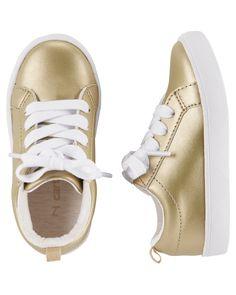 Carter's Casual Metallic Sneakers | Carters.com