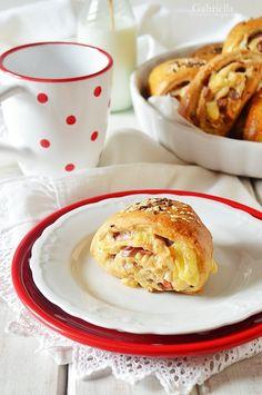 Sonkás-sajtos tekercs - tízóraira vagy uzsonnára Winter Food, Pancakes, Pizza, Breakfast, Morning Coffee, Pancake, Crepes