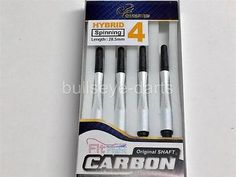Shafts 117102: Cosmo Dart Shafts Carbon Hybrid-Spinning Size #4 (28.5Mm) Pearl White BUY IT NOW ONLY: $43.43
