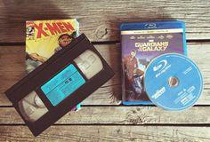 VHS tape vs Blu-Ray