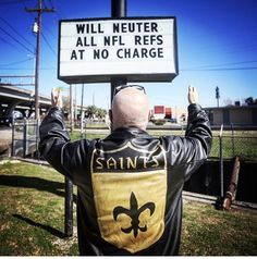 new orleans saints - 4 Stars & Up Best Football Team, Nfl Football, American Football Memes, New Orleans Saints Football, Who Dat, Lsu Tigers, Sports Humor, All Saints, Louisiana