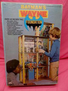 1977 MEGO BATMAN WAYNE FOUNDATION MINT IN BOX SEALED in Toys & Hobbies, Action Figures, Comic Book Heroes | eBay