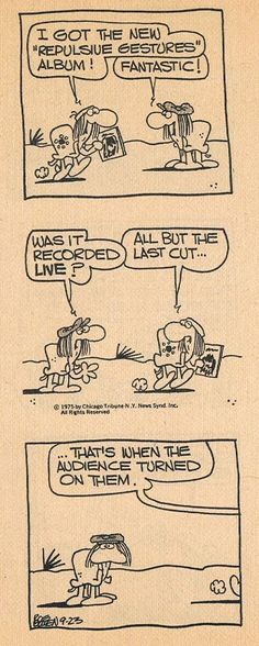 Animal Crackers comic strip was a favorite of mine in 1975.