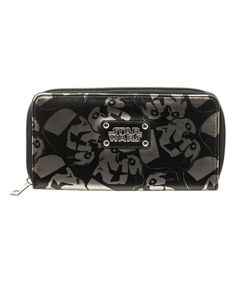 Look at this #zulilyfind! Darth Vader Large Zip Wallet by Star Wars #zulilyfinds