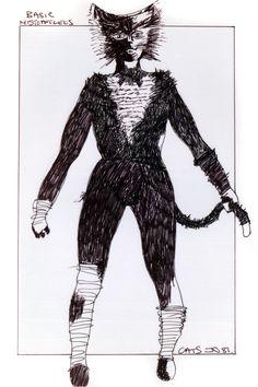 Mistoffelees basic - original costume design, John Napier 1981