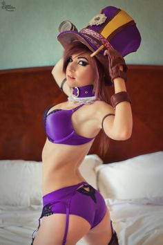 Boudoir Caitlyn II by EnchantedCupcake Check out http://hotcosplaychicks.tumblr.com for more awesome cosplay