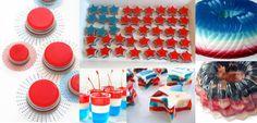 4th of July : des Idées à Cuisiner pour Célébrer la Fête Nationale Américaine Jello, 4th Of July, Culture, Usa, American, Style, Diy Kitchen, National Day Holiday, Seasonal Fruits