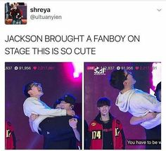 This is so cute!! Just look at that smiling fanboy