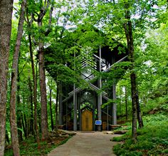 can't get enough of this place...[[thorncrown chapel, eureka springs, arkansas]]