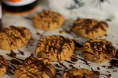 Peanut Butter Spider Cookies - Nibbles By Nic