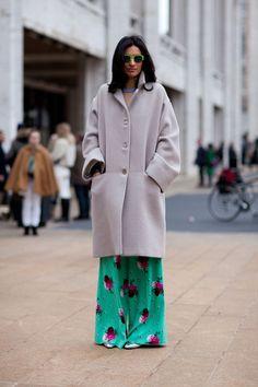 Street Style Fall 2013 - New York Fashion Week Street Style - Harper's BAZAAR    PERFECTION