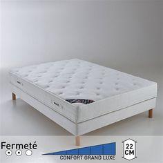 Matelas latex confort prestige ferme, haut. 22 cm PIRELLI