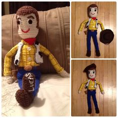 My own version of Woody!. Made it specially for my son, he loves it!!!