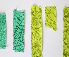 DIY decorative masking tape — Shastablasta.com