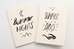 Summer Days & Nights Notebook by Past Present