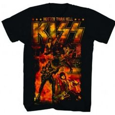 Kiss Album Covers Adult All Over Print 100/% Poly T-Shirt