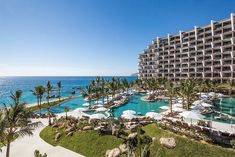 Cabo with Kids! All Inclusive Decadence at Mexico's Grand Velas Resort Los Cabos All Inclusive Beach Resorts, Romantic Resorts, Best Resorts, Best Vacations, Hotels And Resorts, Best Hotels, Mexico Resorts, Mexico Vacation, Vacation Deals