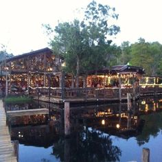 Clark's Fish Camp, Jacksonville FL right around the corner from my parents house. Great place to eat and amazing atmosphere. It's the DisneyWorld of fish camp restaurants!