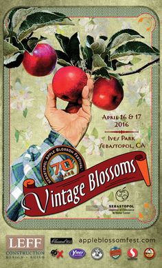Poster: Apple Blossom Festival