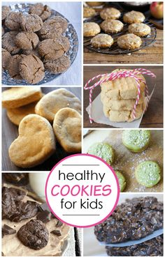 Everyone loves cookies, there's no getting around that, so why not find some healthy alternatives?