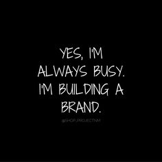 Building my own brand cos that's what leaders do Career Quotes, Mindset Quotes, Business Quotes, Success Quotes, Building An Empire Quotes, Building Quotes, Woman Quotes, Me Quotes, Motivational Quotes