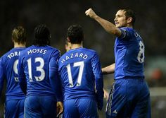 Capital One Cup 19/12/12 Leeds United 1 - 5 Chelsea