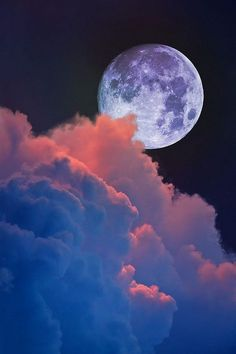 Lunar Moon Rise mother nature moments