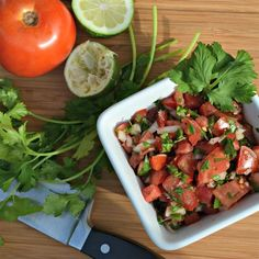 "Secret Salsa | ""Sweet and spicy pico de gallo-style salsa with my secret ingredient!"""