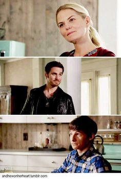 Henry is appropriately disgusted by their cuteness ❤
