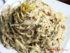 Vegan Garlic Alfredo Sauce
