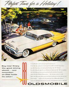 Oldsmobile 88 Holiday Sedan 1957