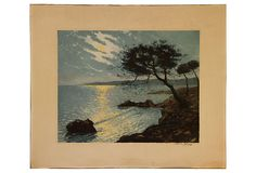 Etching of Reflection Bay on OneKingsLane.com