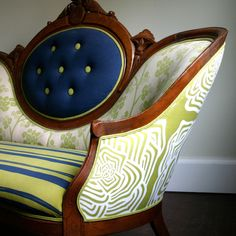 Vintage English Butterfly sofa