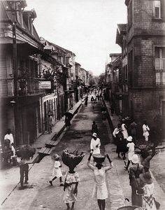 Street Near Market, Fort de France, Martinique, 1930