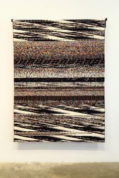 https://flic.kr/p/gpbJDU | Fragmented Memory | Glitch Textiles by Phillip David Stearns