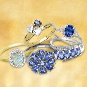 Take a look at the Dazzle With Tanzanite & Opal event on #zulily today!