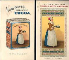 Walter Baker & Co's Breakfast Cocoa - 1900