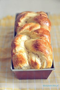 Braided brioche: