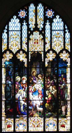 Vitraux de l'église Saint Patrick de Bisbee. Réalisés par Emil Frei, ils sont reconnus comme étant un exemple inégalé de vitraux de style victorien.