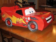 Beyond a shadow of a doubt, the best Lightning McQueen costume AND tutorial I have come across