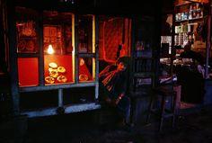 Steve McCurry. AFGHANISTAN. Pul i Khumri. 1992. Bread Shop.