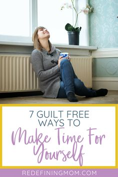 Are you wanting to make time for yourself? Learn how to make more time for yourself while ditching the mom guilt. These self care for moms tips are just what you need!
