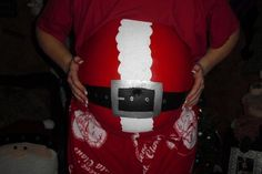 Santa Suite with Belt - Belly Painting #16 12-14-11