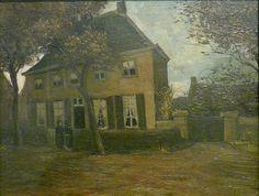 De pastorie zoals Vincent van Gogh die schilderde in 1885