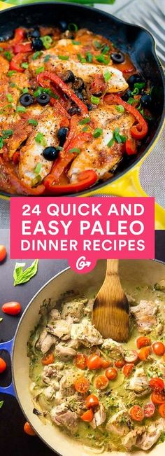 24 Easy Paleo Dinners That Will Please Everyone #paleo #dinner #recipes http://greatist.com/eat/paleo-recipes-easy-and-delicious-dinners